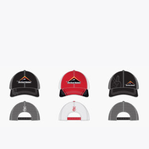 Vertical Runner Trucker Hat